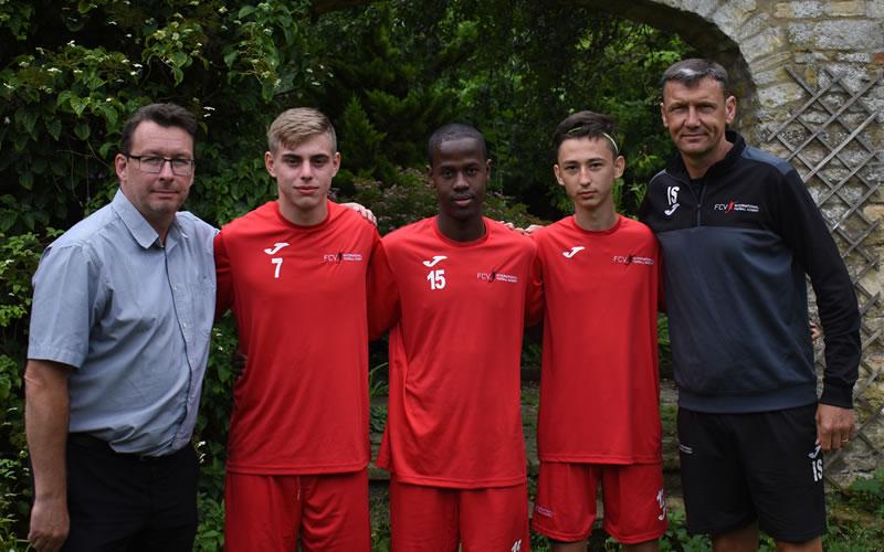 NYFA footballers enjoy additional coaching at FCV Academy
