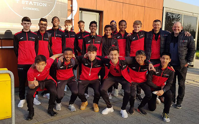 FCV Academy head to Belgium for two-week stay