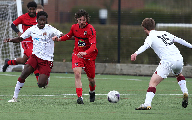 FCV players undertake assessments and trials with pro players
